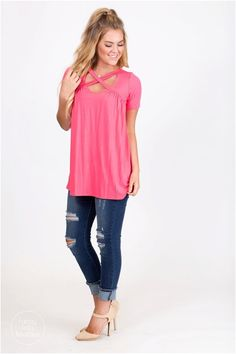 Time for some spring cleaning to make room for this adorable top!