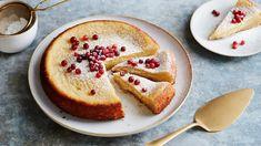 Valkosuklaamutakakku - Yhteishyvä Margarita, Camembert Cheese, Pancakes, French Toast, Pudding, Baking, Eat, Breakfast, Desserts