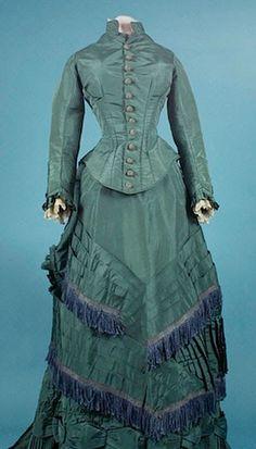 dress 1880 http://www.augusta-auction.com/ 1860