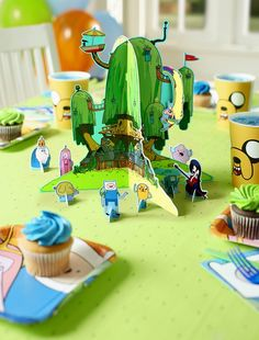 Adventure Time Party! http://www.birthdaydirect.com/adventure-time-party-supplies-c-1076_4132.html