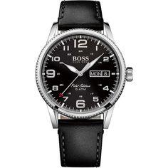 a8537bc6af0 Relógio Hugo Boss Masculino Couro preto -1513330 Couro Preto