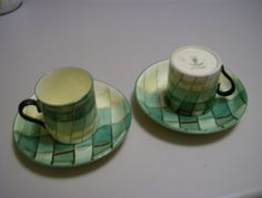 Art Deco Table Lamps, Royal Stafford, Coffee Cups, Colours, Lighting, Tableware, Pattern, Coffee Mugs, Dinnerware