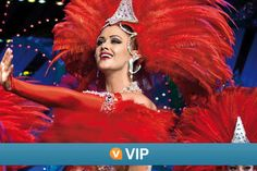 Viator VIP: Moulin Rouge Show with Exclusive VIP Seating and 4-Course...