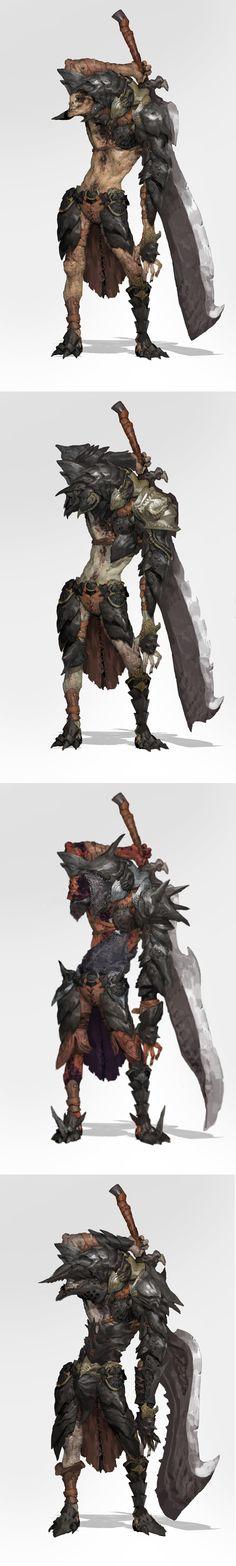 sword monster