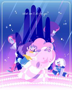 Steven Universe - Greg, Rose Quartz, Garnet, Pearl, Amethyst