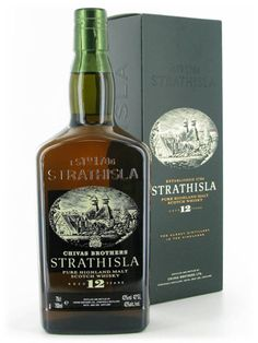 Strathisla 12 Year Old Single Malt Scotch Whisky. In my humble opinion a much better Dram than it's modern counterpart.