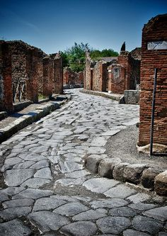 Archaeological sites Pompeii can be considered the only archaelogical site which gives the real image of roman city.The B&B is just 1 km from Pompeii . Ancient Pompeii, Pompeii Ruins, Pompeii Italy, Pompeii And Herculaneum, Ancient Ruins, Ancient History, Places To Travel, Places To See, Places Around The World