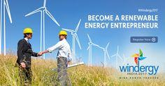 Entrepreneurs looking to invest in Renewable Energy. #Windergy2017 #Wind4All #RenewableEnergy #Here2Stay #WindPowerForever Register now @ http://www.windergy.in