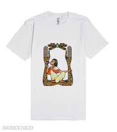 Egyptian Fusion | A fantasy Egyptian folk art design. #Skreened