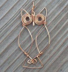Owl pendant.Craft ideas 8348 - LC.Pandahall.com