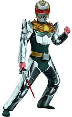 Disguise Power Rangers Megaforce Robo Knight Boy's Muscle Costume, 4-6 -- You can get more details by clicking on the image. (This is an affiliate link) #CostumesforKids