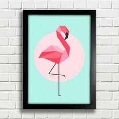 Poster Flamingo - Encadreé Posters