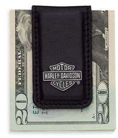 91938558872 Harley-Davidson® Bar   Shield Logo Money Clip. Man Bars