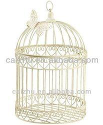 White Wire Decorative Bird Cage - Buy Decorative Bird Cages,Decorative Bird Cages For Weddings,Decoration Wedding Bird Cage Product on Alibaba.com
