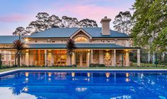 Victorian house. A solar-heated swimming pool and spa. Verdun. Adelaide. South Australia. Luxury. Living. Comfort. InDaily.