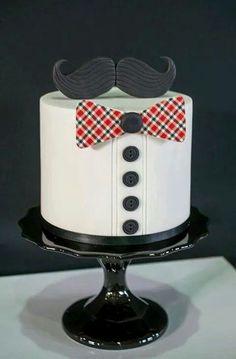 Little man birthday cake Birthday Ideas Pinterest Fdelsedag