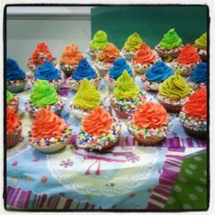 Colorfull CupCakes...