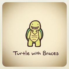 Turtle with Braces