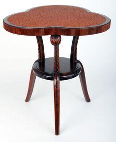 Pair Grosfeld House American Art Deco End Tables
