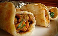 Looking for Kokab Khawaja Chicken Paratha Roll Recipe? Try out this Chicken Paratha Roll Recipe By Kokab Khawaja.