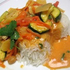Thai Red Chicken Curry Allrecipes.com