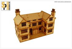 English Timber Framed 28mm Manor House | Warlord Games US