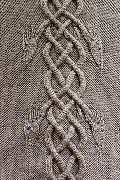 Ravelry: Dancing Dragons Coat pattern by Heike Campbell