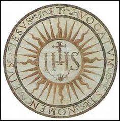 """Luke 2:21 """"...Et vocatum est Nomen eius IESUS""""  (""""And His Name was called…"""