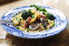 Pasta Primavera by Ree Drummond - Now through May 31, the Land O'Lakes Foundation will donate $1 to Feeding America® every time you pin or re-pin this recipe!