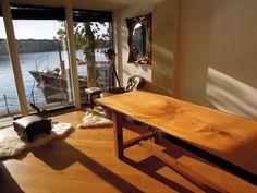 Bespoke Cedar of Lebanon Dining table