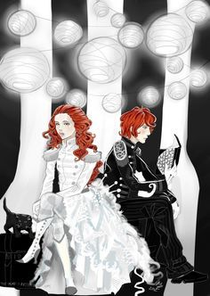 56 best The Night Circus images on Pinterest   Night circus  Libros     Poppet and Widget  my two favorite redheaded twins  Born in the Night Circus