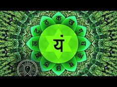 Binaural Beat Sleep Meditation: Heart Chakra ANAHATA Cleansing, Positive Energy Boost - YouTube