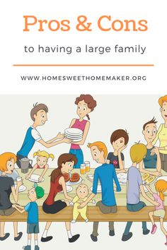 pros and cons to big families how many kids should i have family planning large family Parenting Articles, Parenting Hacks, Family Goals, Family Life, Family Issues, To My Parents, How Many Kids, Family Planning, Attachment Parenting