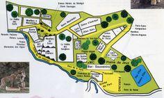 Plan du Parc 1990