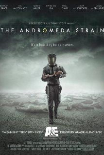 """The Andromeda Strain""  A crack team of top scientists work feverishly in a secret, state-of-the-art laboratory to discover what has killed the citizens of a small town and learn how this deadly contagion can be stopped."