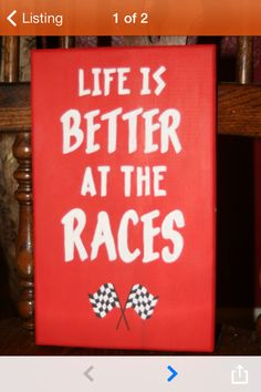 Racing dirt track racing