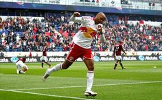 THIERRY HENRY of the New York Red Bulls during 1st game of MLS 2012 season