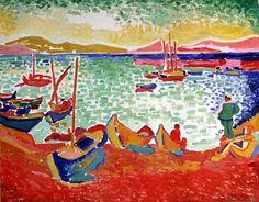 Henri Matisse 1905, Boats in the Port of Collioure