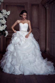 Obtain Inspirations For Your Personal Wedding Gown By Using Our Great Wedding Gown Photos Album. Make A Person's Big Day Special.