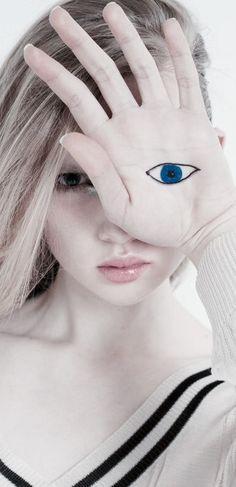 Pale Blue Eyes, Seeing Eye, Body Parts, Spy, Creepy, Rain, Dreams, Portrait, Photography