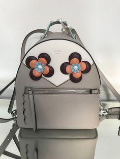 7dd585949e Fendi Beige Flowerland Mini Backpack