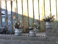 Wheat Basket Flowers