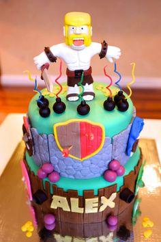 kit kat cake for birthday awesome see more clash of clans kit kat cake ...