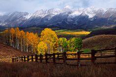 Autumn on Ohio Pass near Crested Butte, Colorado.   Adam Schallau Photography