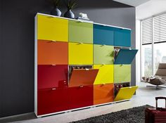 Germania Modern Colorado 16 Door Shoe Cabinet Rainbow or Choice of Colour - See more at: https://www.trendy-products.co.uk/product.php/5962/germania-modern-colorado-16-door-shoe-cabinet-rainbow-or-choice-of-colour#sthash.UTPJa4Dq.dpuf