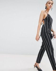 2df45cdfdb88 PrettyLittleThing Stripe Jumpsuit