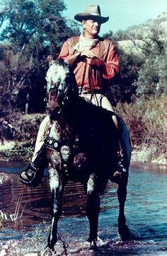 John Wayne and Zip Cochise.