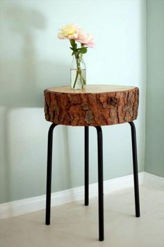 45 Amazing Ideas With Recycled Tree Trunks | DIY to Make