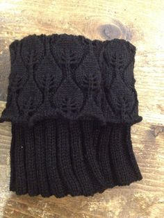 Knitted boot cuff / boot toppers