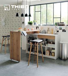 Ý tưởng thiết kế tủ bếp 02